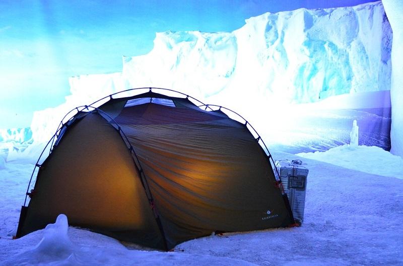 campeggio invernale