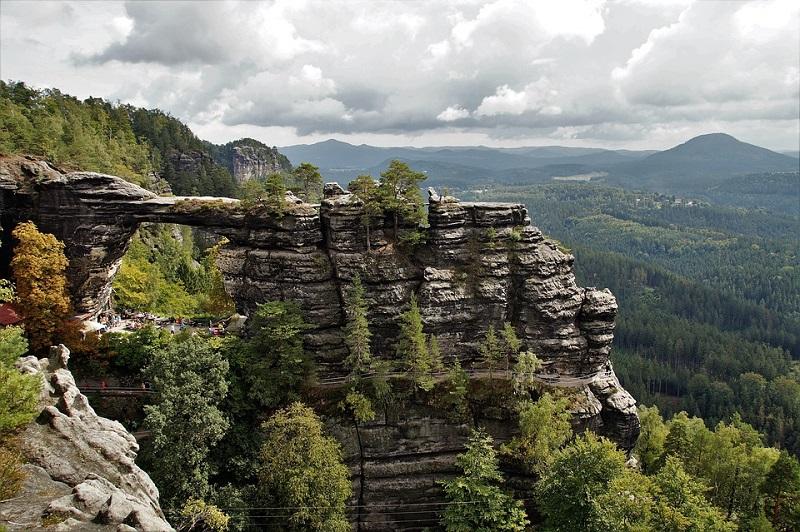 Viaggiare in Repubblica Ceca -svizzera boema