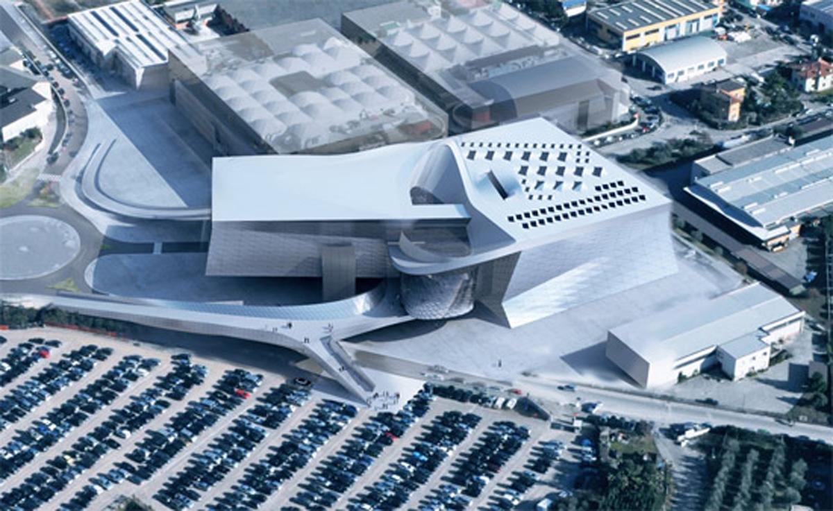 Futuristic Architectural Building Plans