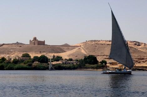 Nilo entre Aswan e Isla Elefantina1web