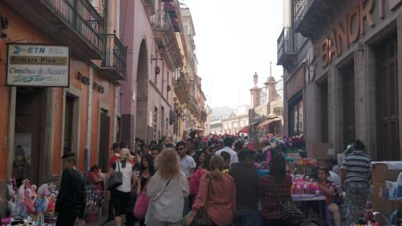Día de las flores en Guanajuato.