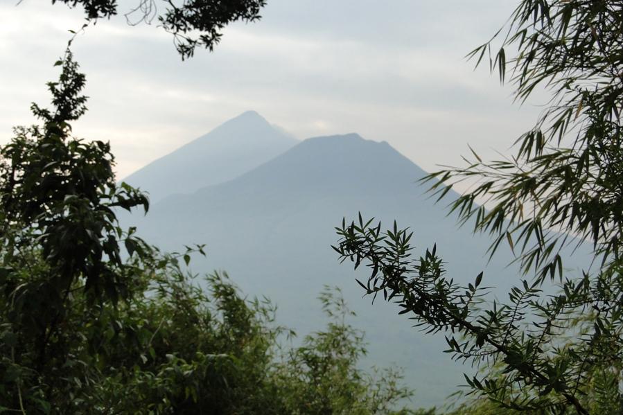 El parque de los volcanes