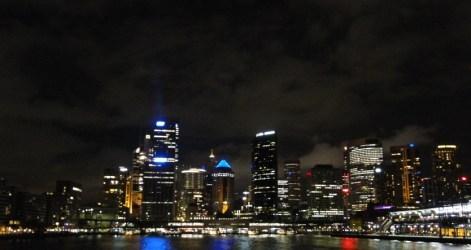 La ciudad en la noche