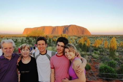 Amanecer en Uluru