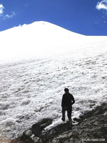 Gran glaciar del Pico de Orizaba