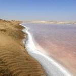 Mar de sal en Walvis Bay