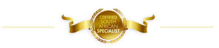 Certified South African Specialist