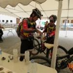 Preparando la hidratación antes de salir de Salardú