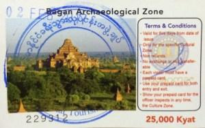 Entrada a Bagan