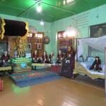 Los templos a los Monjes del monasterio en el Monte Popa