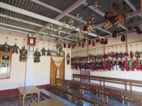 Teatro de marionetas Aung Lago Inle