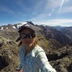 Desde la cima del pico Avalancha hacia el noroeste
