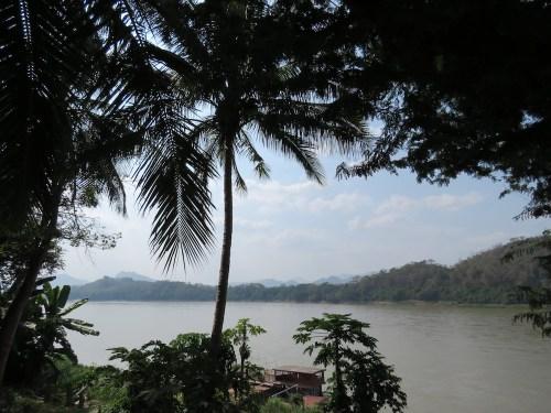 El río Mekong desde Luang Prabang