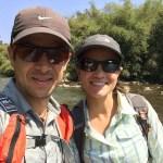 Cruzando el Río Nam Ha