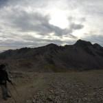 Pero hacia el otro lado (por donde vinimos el día anterior) el viento hacía imposible caminar