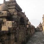 En las terrazas inferiores se aprecian los relieves