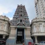 Templo Hindú en Chinatown