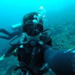 Selfie submarina