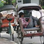 Triciclos, la forma más fácil para desplazarse en la ciudad