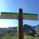 En esta parte el camino estaba muy bien señalizado, sin embargo más adelante encontramos que faltaba mayor información