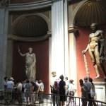 Esculturas con varios siglos de antigüedad