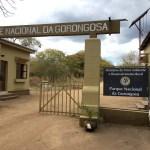 Entrada al parque Gorongosa