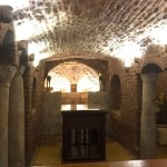 La gruta donde se cree descansó la sagrada familia