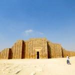 Entrada a la necrópolis de Saqqara