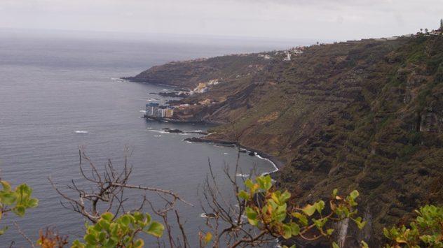La costa de Tenerife