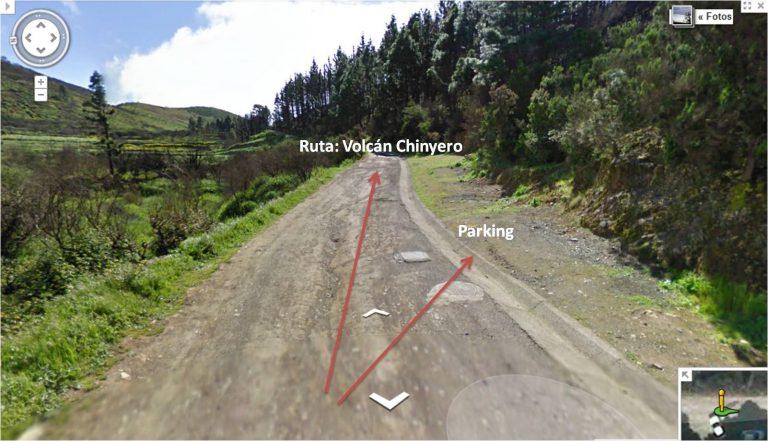 parking e inicio de la ruta