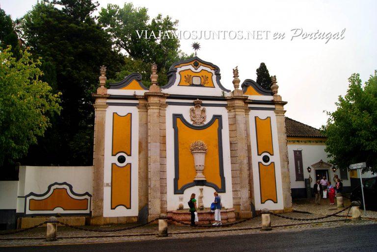 La fuente de Pasmados, Azeitao, Portugal