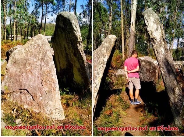 Dolmen Pedra Cuberta; Ruta de los dólmenes de Vimianzo; Dumbría, Costa da Morte, Galicia