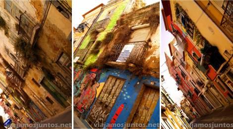 Las calles de Setubal, y sus colorines Portugal