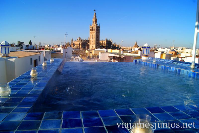 La azotea de Aire de Sevilla.