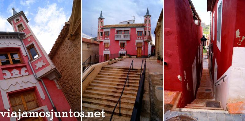 Casa del Cura, Ulea Ruta en coche por el Valle de Ricote, Murcia. Pasado islámico