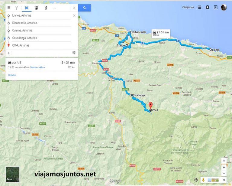 Ruta en coche Asturias, que hacer, donde ir; montaña, playa, pueblos con encanto