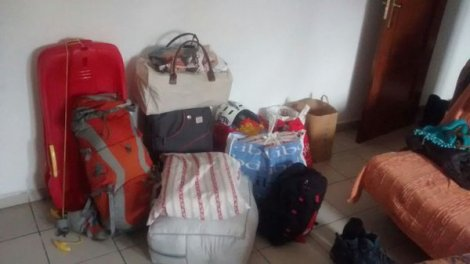 Nuestro equipaje... para 4 días Viajar en autocaravana. Trucos y consejos. Primera vez.