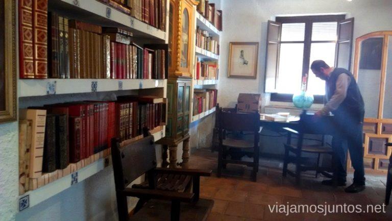Biblioteca Cervantina Donde comer y alojarse en el Valle de Alcudia, Edén de la Mancha, Castilla la Mancha