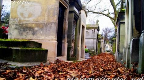 Un paseo tranquilo por los cementerios... buscando o no a algún famoso... Cementerios de París, Pere Lachaise. Francia