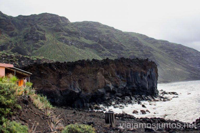 Piscina natural en el Remo Las playas de la Palma, Islas Canarias. Mejores playas.