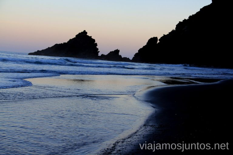 Playa de Nogales, dicen que una de las más bonitas de la Palma Las playas de la Palma, Islas Canarias. Mejores playas.