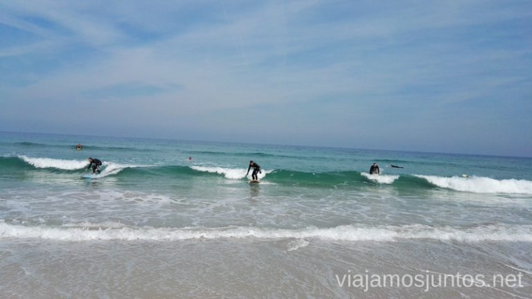 Parecemos profesionales, ¿verdad? Surfear por primera vez Surfear en Galicia #GanasdeArtSurfCamp