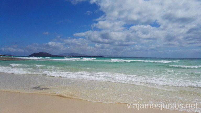La playa de Corralejo 10 imprescindibles de Fuerteventura