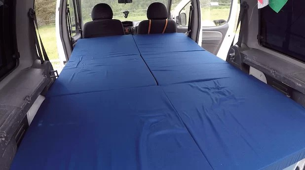 cama plegable camper