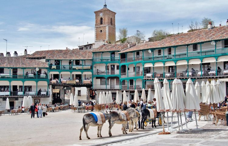 plaza mayor chinchón