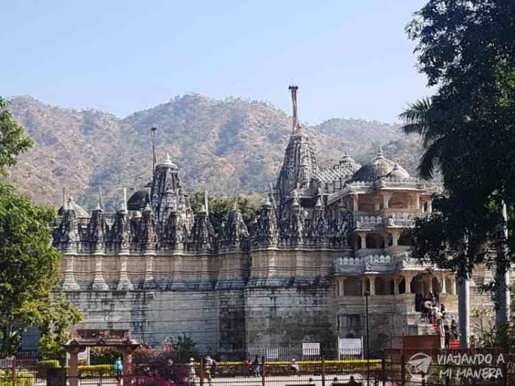 Los templos jainistas de Ranakpur