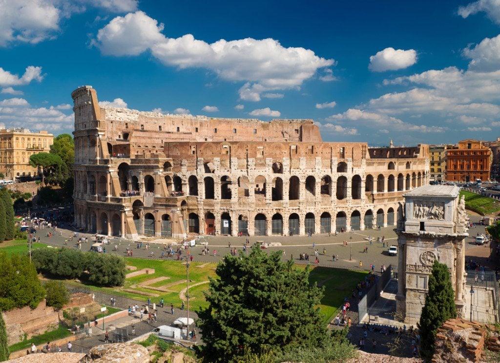 Visitar o Coliseu na Itália?