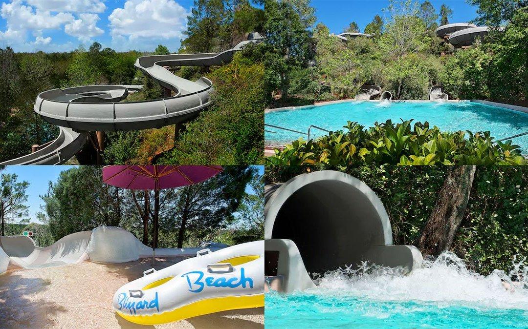 Foi reaberta a atração Runoff Rapids do parque aquático Disney's Blizzard Beach