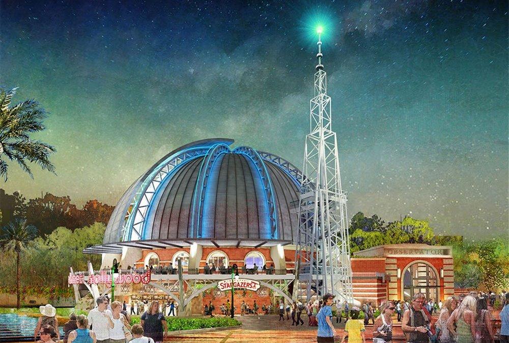 Mais detalhes a respeito do Planet Hollywood Observatory