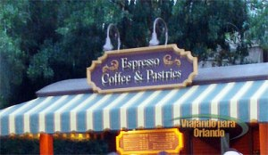 Espresso Coffee and Pastries